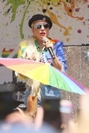 Lady Gaga - Speaks During Pride Live's 2019 Stonewall Day in NY