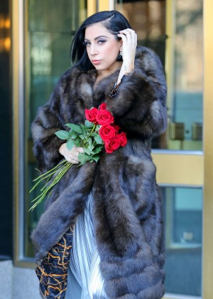 Lady Gaga Street Style - Out and about in NYC