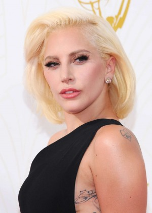 Lady Gaga - 2015 Primetime Emmy Awards in LA
