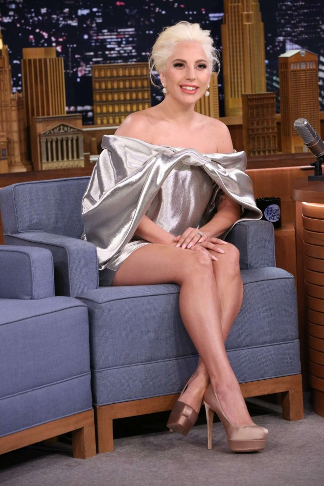 Lady Gaga - 'The Tonight Show with Jimmy Fallon' in NYC