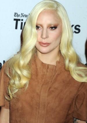 Lady Gaga - TimesTalks Presents Hunting Ground in NYC