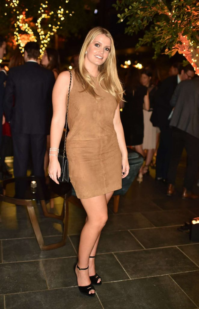 Lady Kitty Spencer - Tatler's Little Black Book Party in London