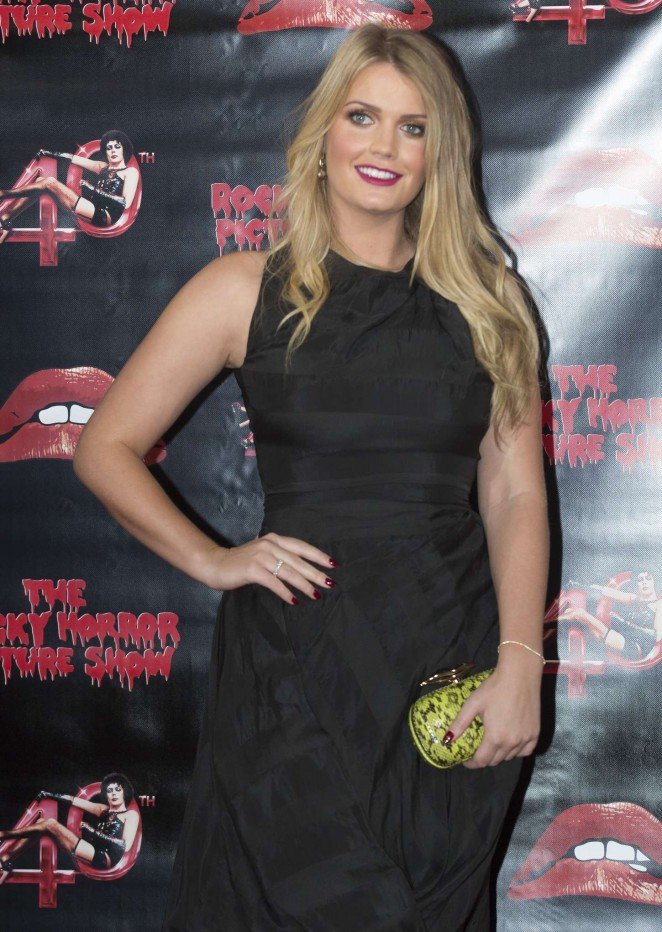 Lady Kitty Spencer - The Rocky Horror Picture Show: 40th Anniversary Screening in London