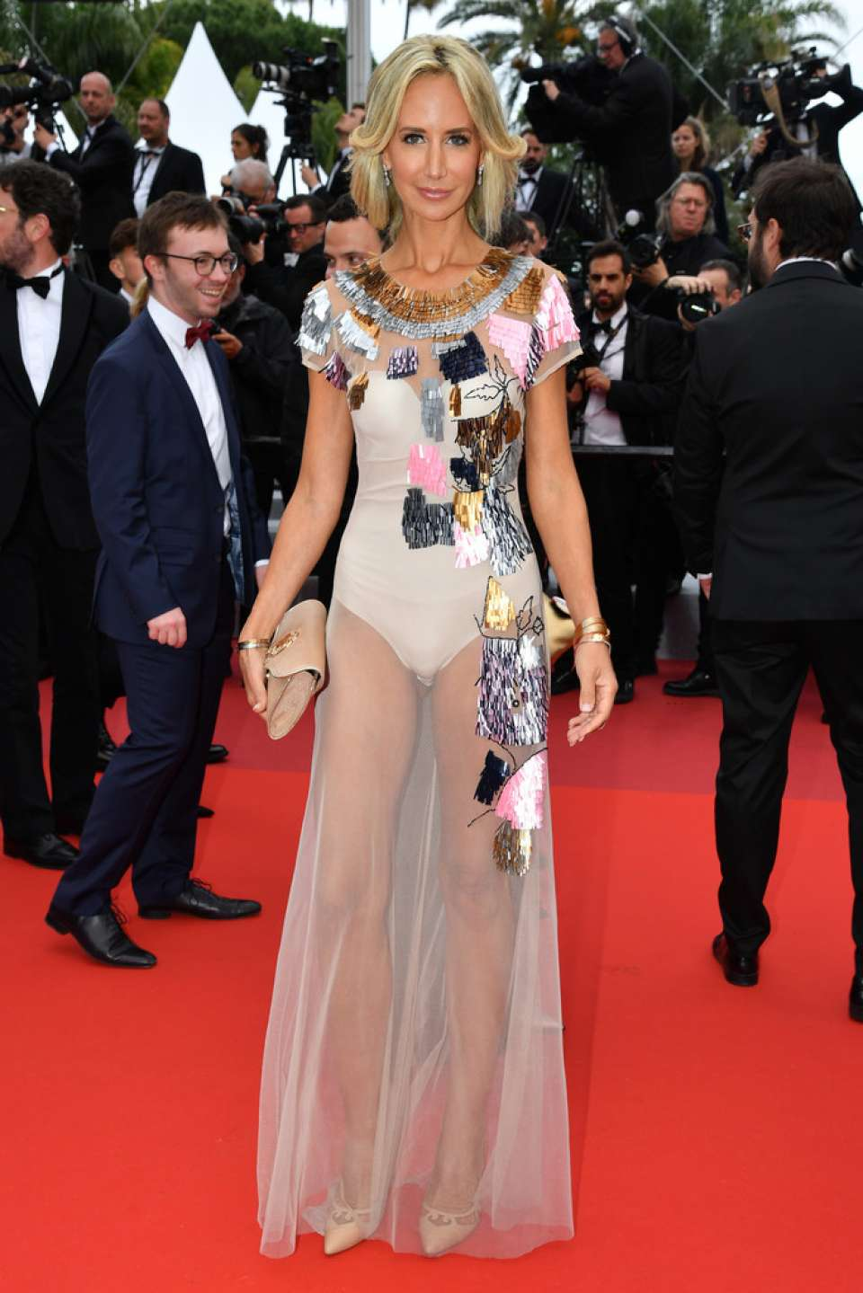 Lady Victoria Hervey - 'A Hidden Life' Premiere at 2019 Cannes Film Festival