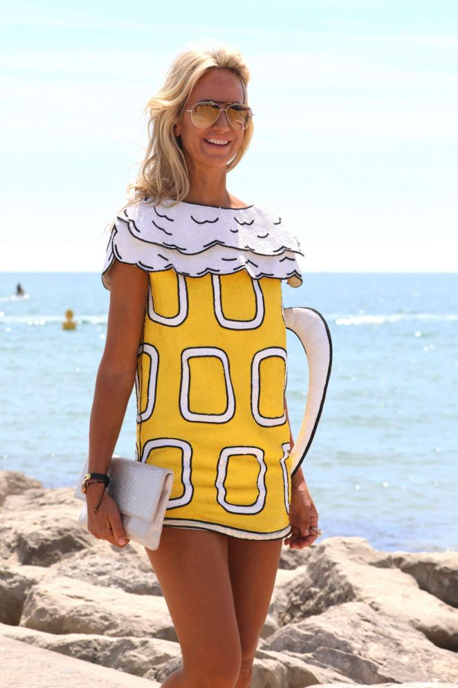 Lady Victoria Hervey at the Sandbanks Polo Event in Dorset