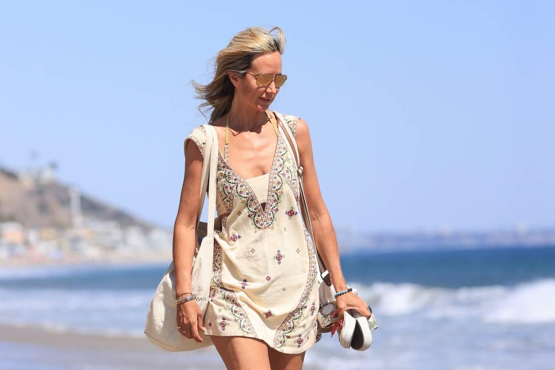 Lady Victoria Hervey 2021 : Lady Victoria Hervey – Bikini candids in Malibu-03