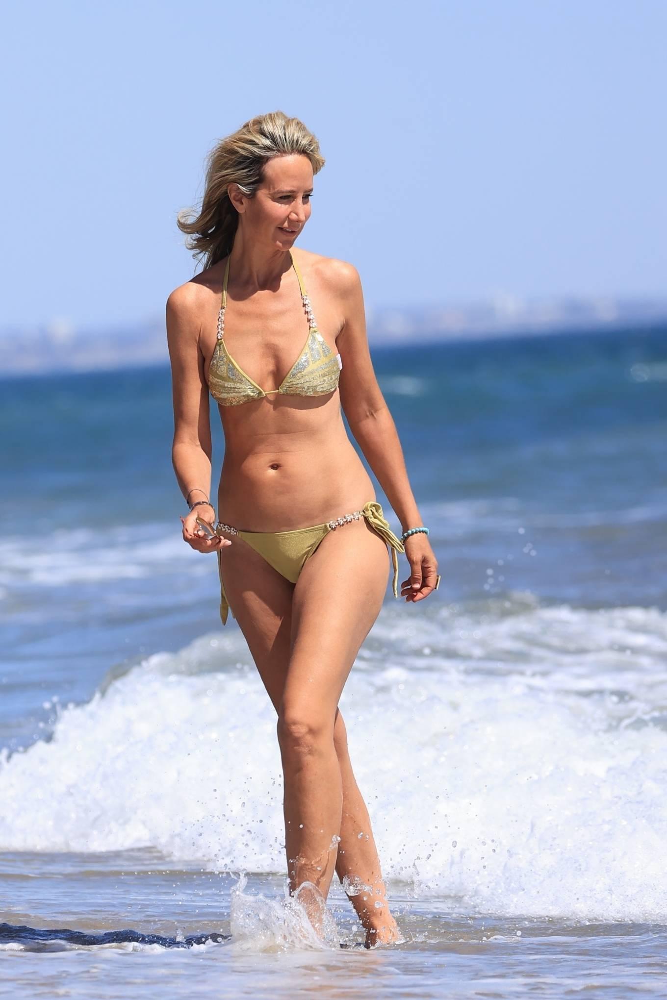 Lady Victoria Hervey 2021 : Lady Victoria Hervey – Bikini candids in Malibu-11