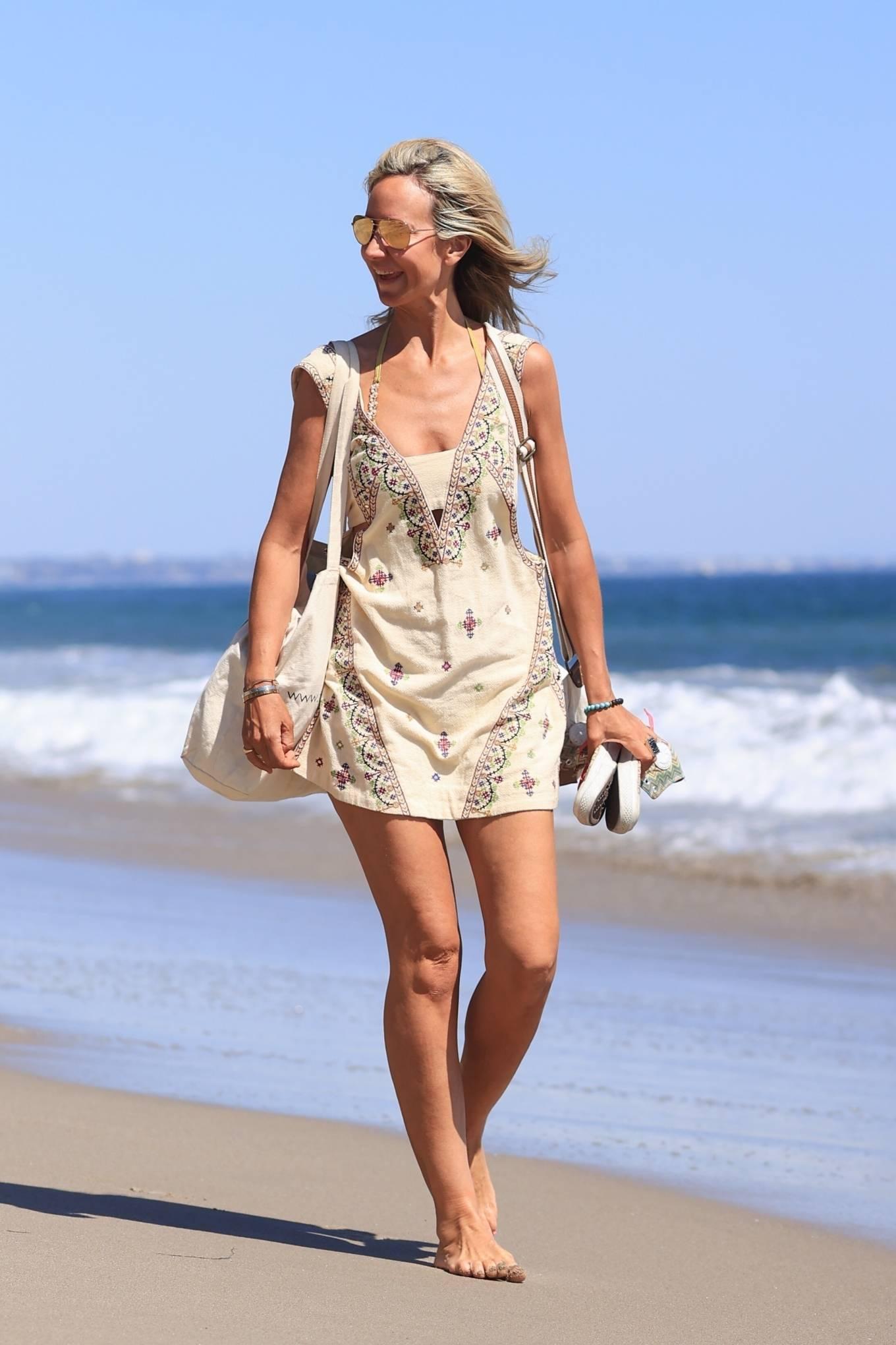 Lady Victoria Hervey 2021 : Lady Victoria Hervey – Bikini candids in Malibu-12