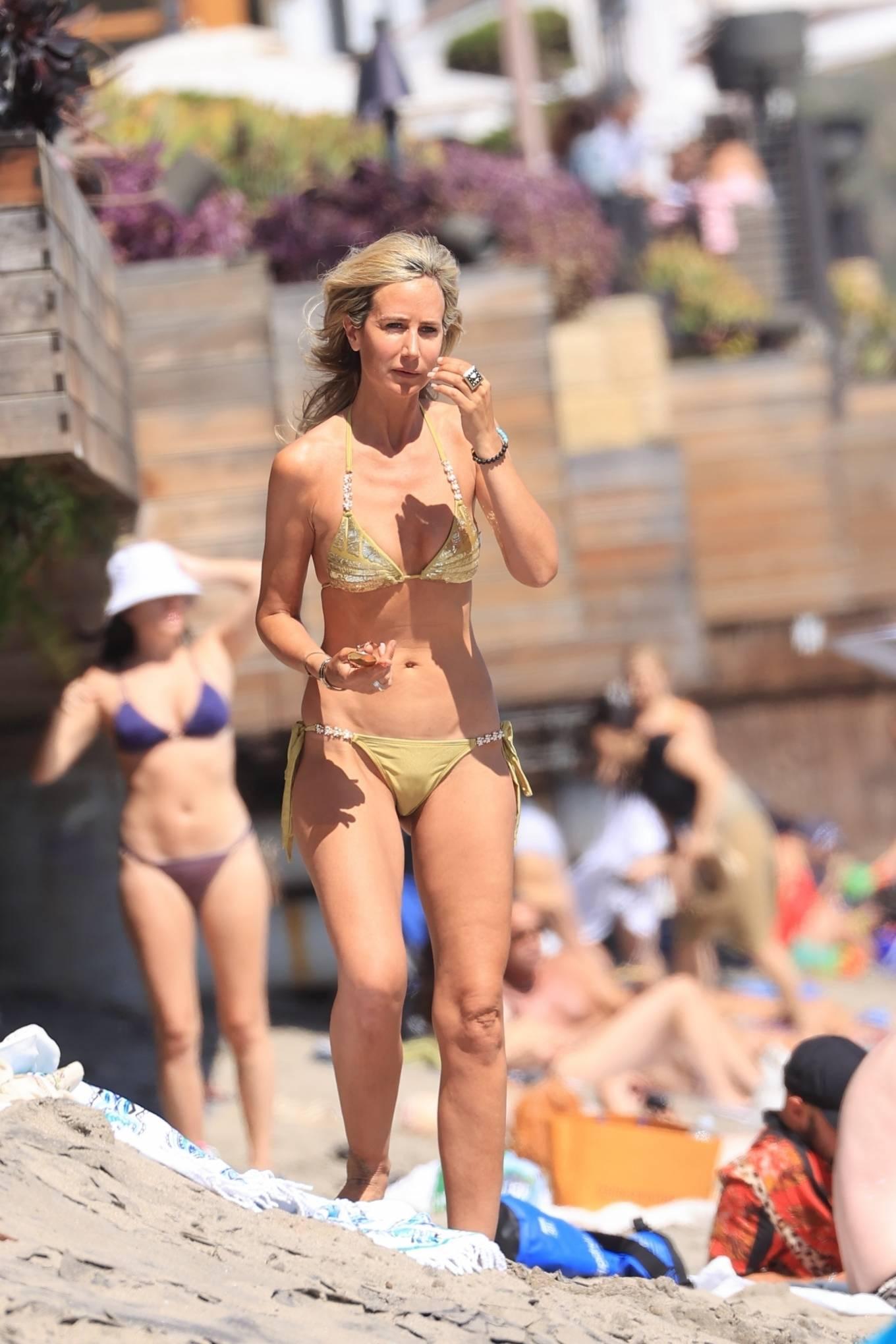 Lady Victoria Hervey 2021 : Lady Victoria Hervey – Bikini candids in Malibu-13