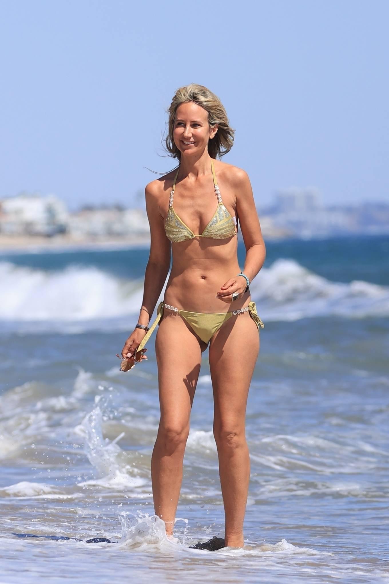 Lady Victoria Hervey 2021 : Lady Victoria Hervey – Bikini candids in Malibu-17