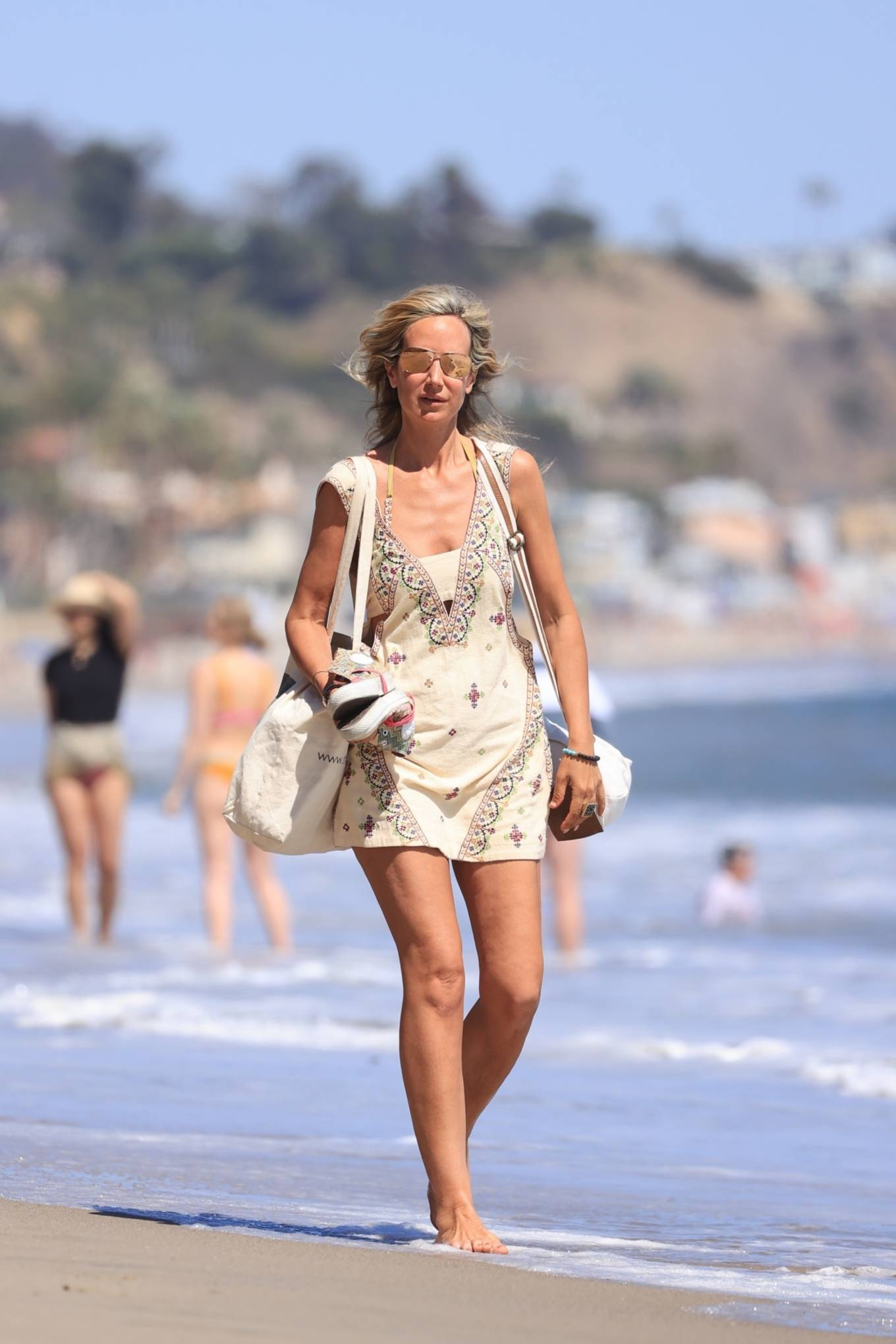 Lady Victoria Hervey 2021 : Lady Victoria Hervey – Bikini candids in Malibu-18