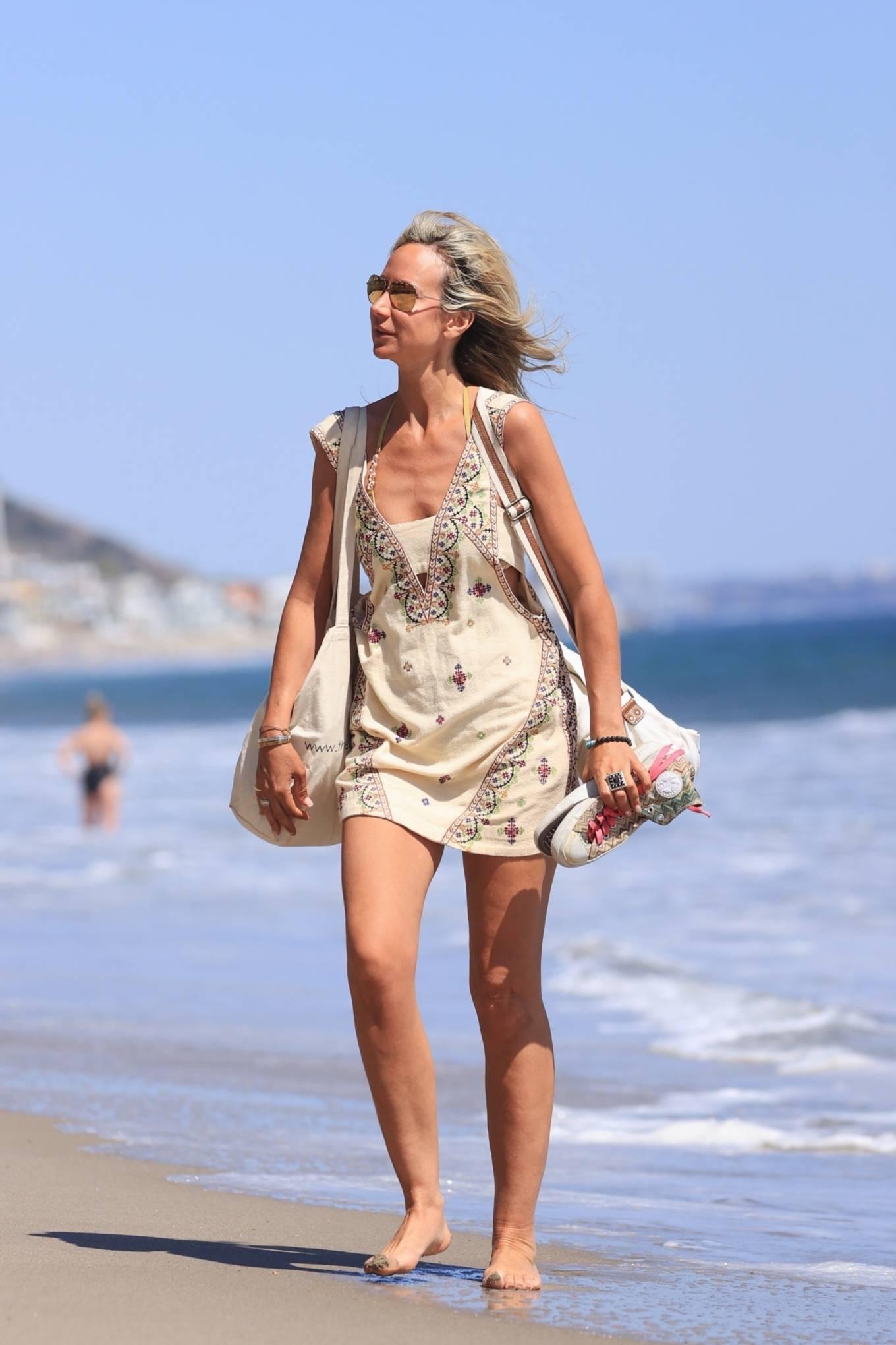 Lady Victoria Hervey 2021 : Lady Victoria Hervey – Bikini candids in Malibu-19