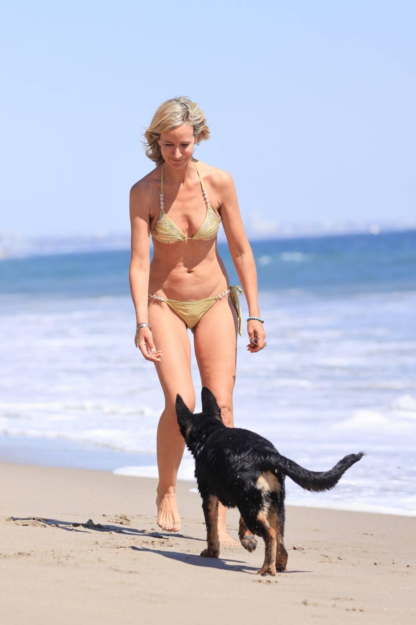 Lady Victoria Hervey 2021 : Lady Victoria Hervey – Bikini candids in Malibu-20