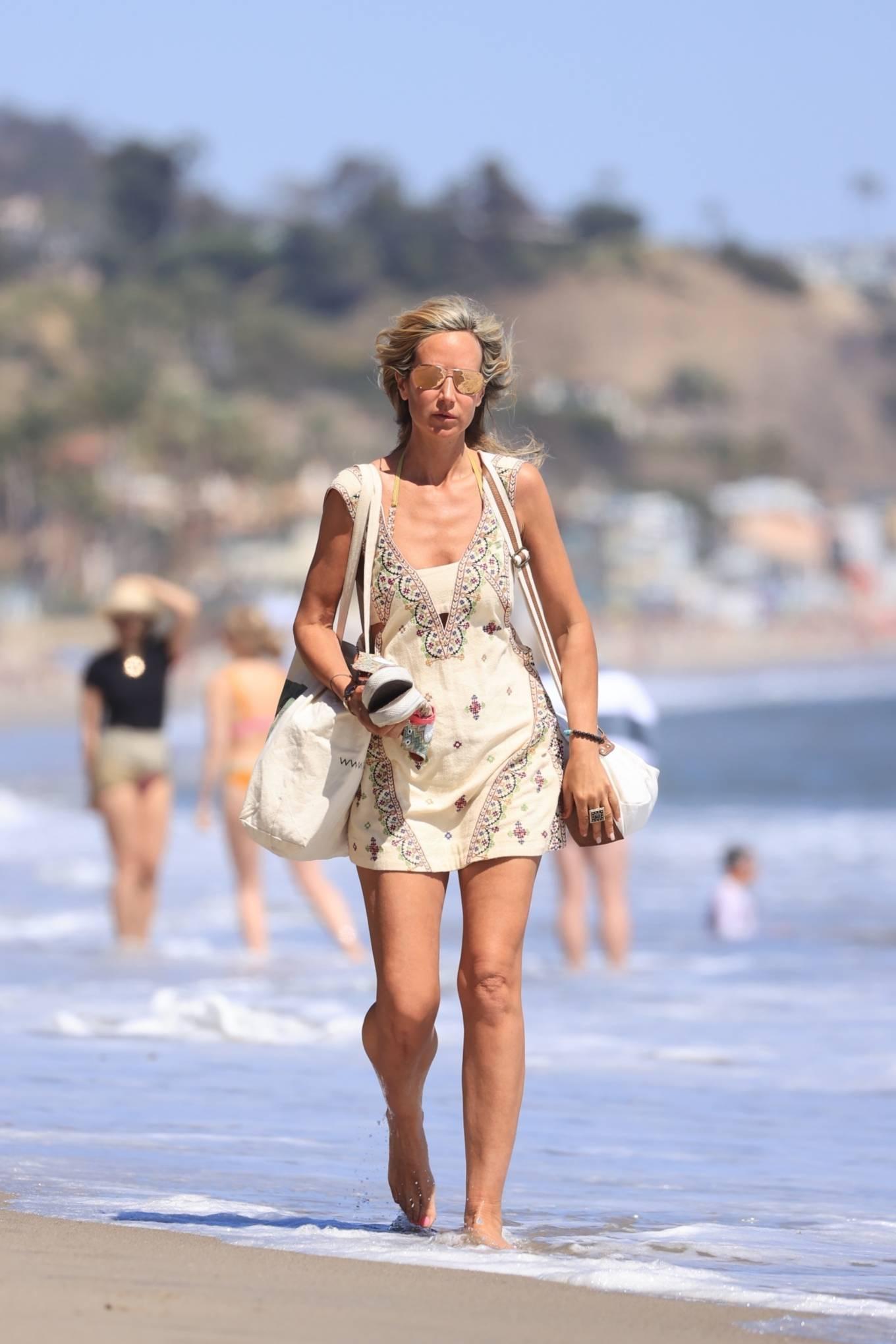 Lady Victoria Hervey 2021 : Lady Victoria Hervey – Bikini candids in Malibu-21