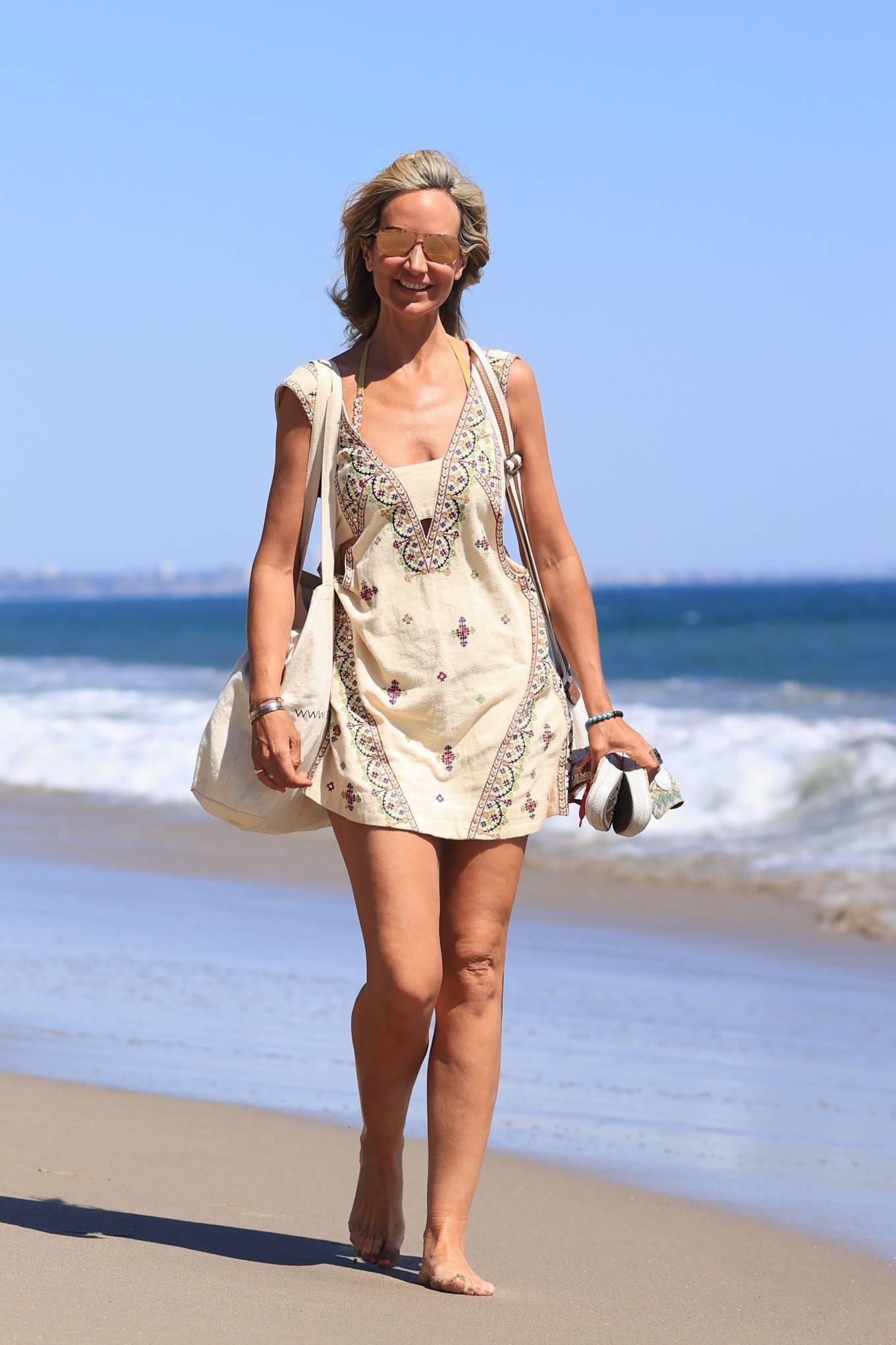 Lady Victoria Hervey 2021 : Lady Victoria Hervey – Bikini candids in Malibu-22