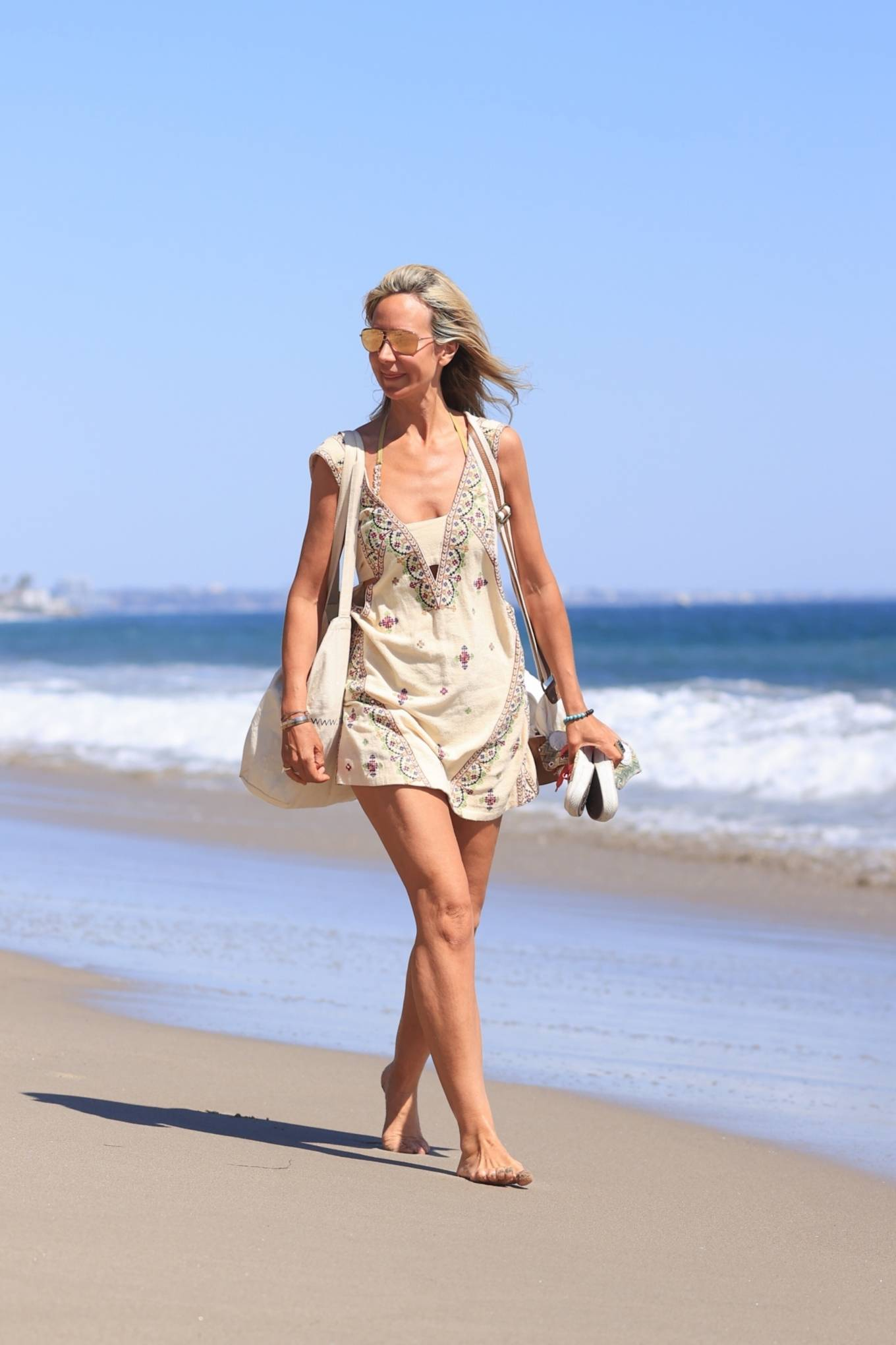 Lady Victoria Hervey 2021 : Lady Victoria Hervey – Bikini candids in Malibu-23