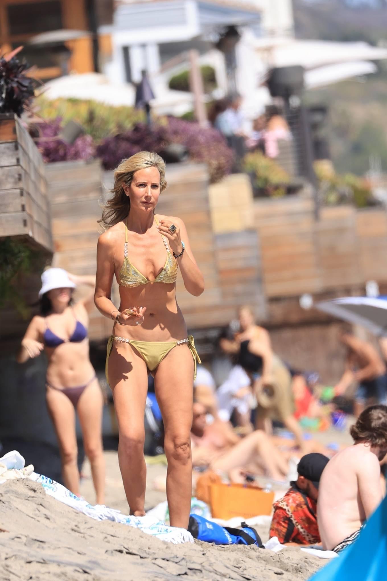 Lady Victoria Hervey 2021 : Lady Victoria Hervey – Bikini candids in Malibu-24