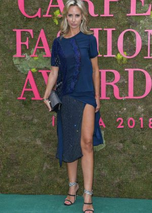 Lady Victoria Hervey - Green Carpet Fashion Awards 2018 in Milan