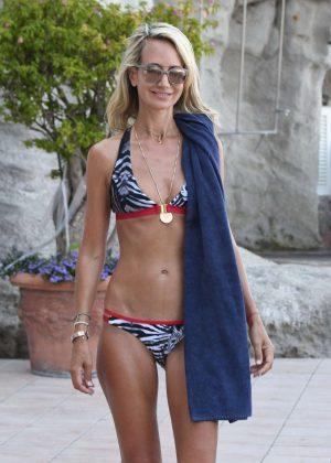 Lady Victoria Hervey in Bikini in Ischia