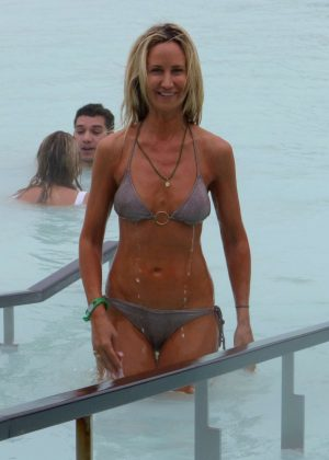 Lady Victoria Hervey in Bikini in Reykjavik