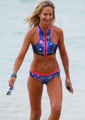 Lady Victoria Hervey in Bikini - Jet ski in Barbados