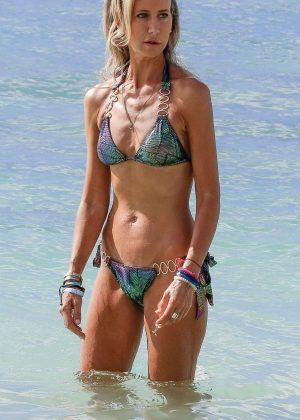 Lady Victoria Hervey in Bikini on holiday in Barbados