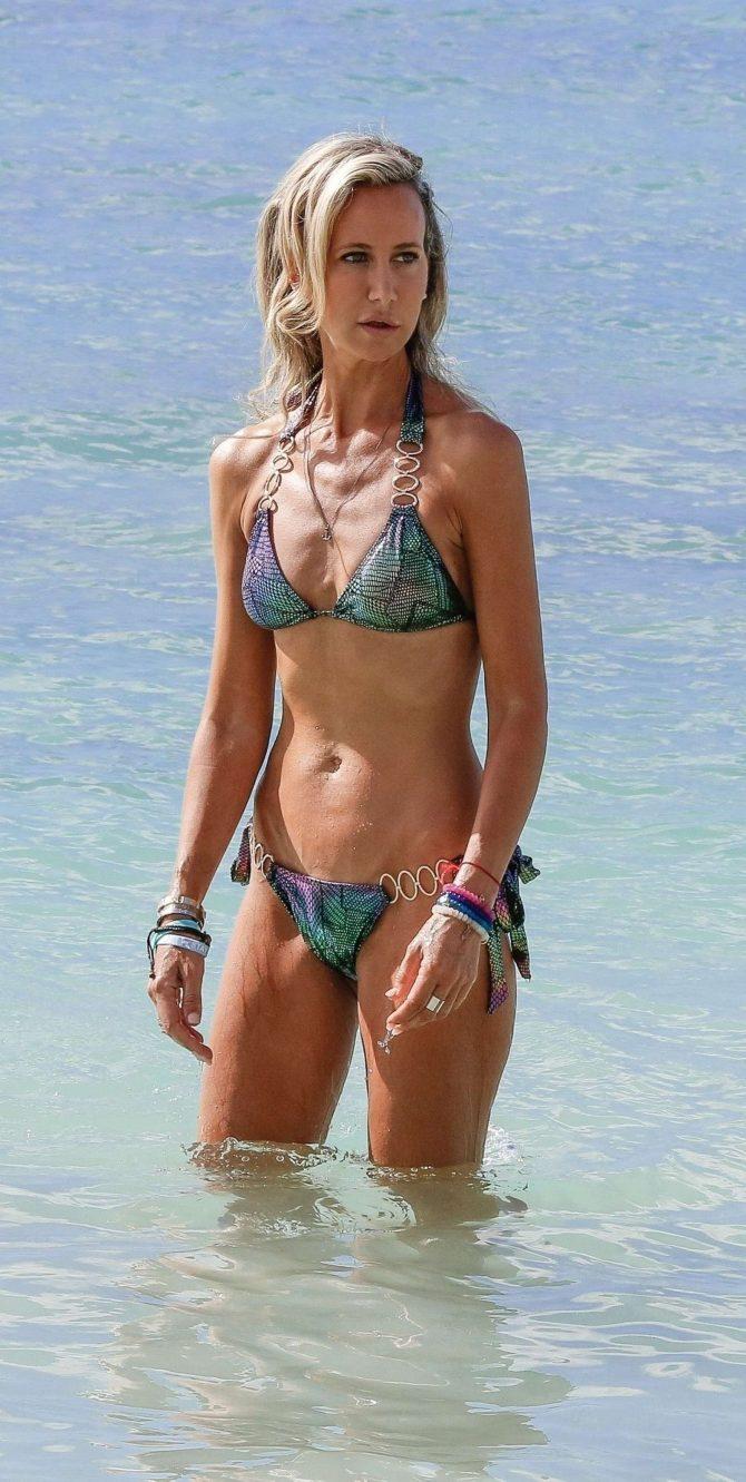 Lady Victoria Hervey in Bikini on holiday in Barbados