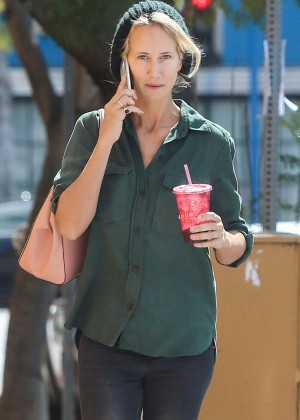 Lady Victoria Hervey in Jeans out in Hollywood