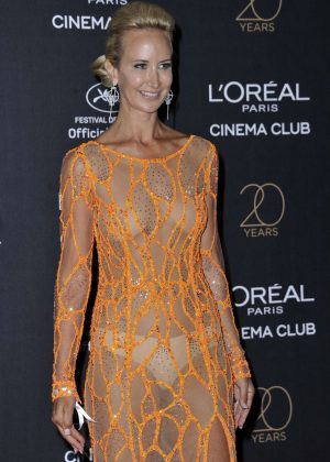 Lady Victoria Hervey - L'Oreal 20th Anniversary Party in Cannes