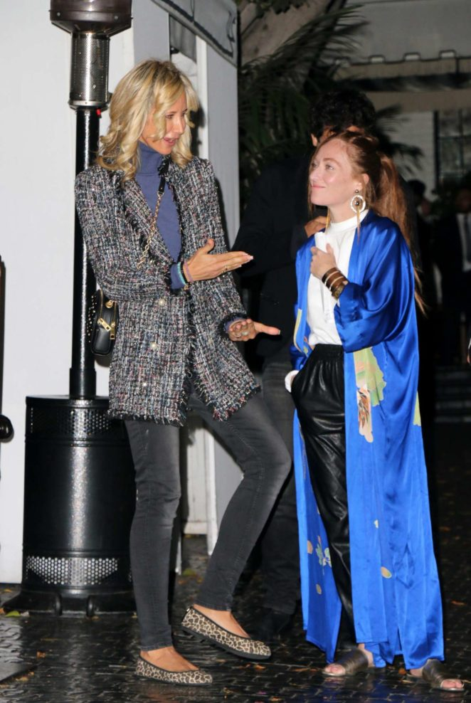 Lady Victoria Hervey - Leaves Chateau Marmont in Los Angeles