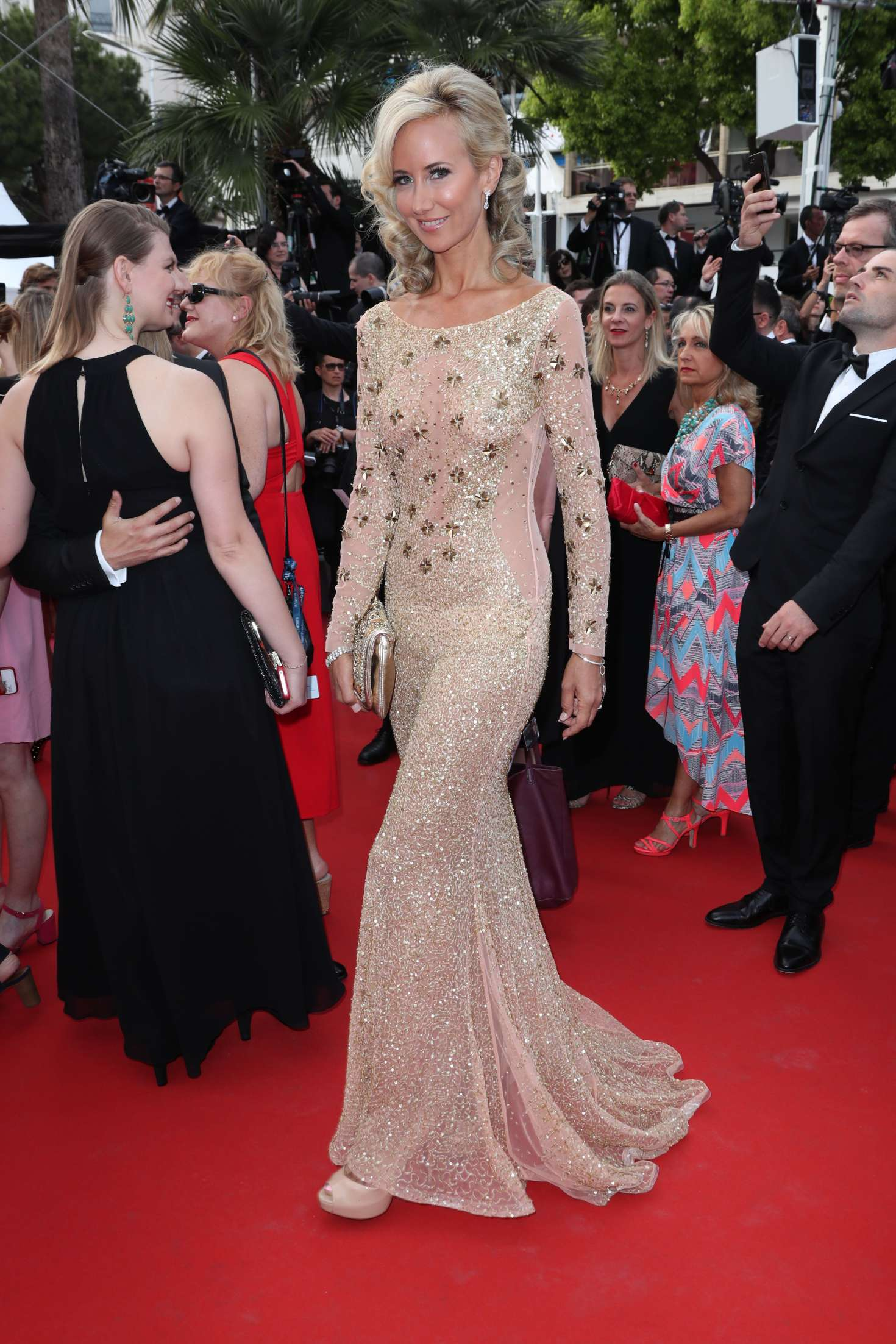Lady Victoria Hervey 2017 : Lady Victoria Hervey: Loveless Premiere at 70th Cannes Film Festival -03