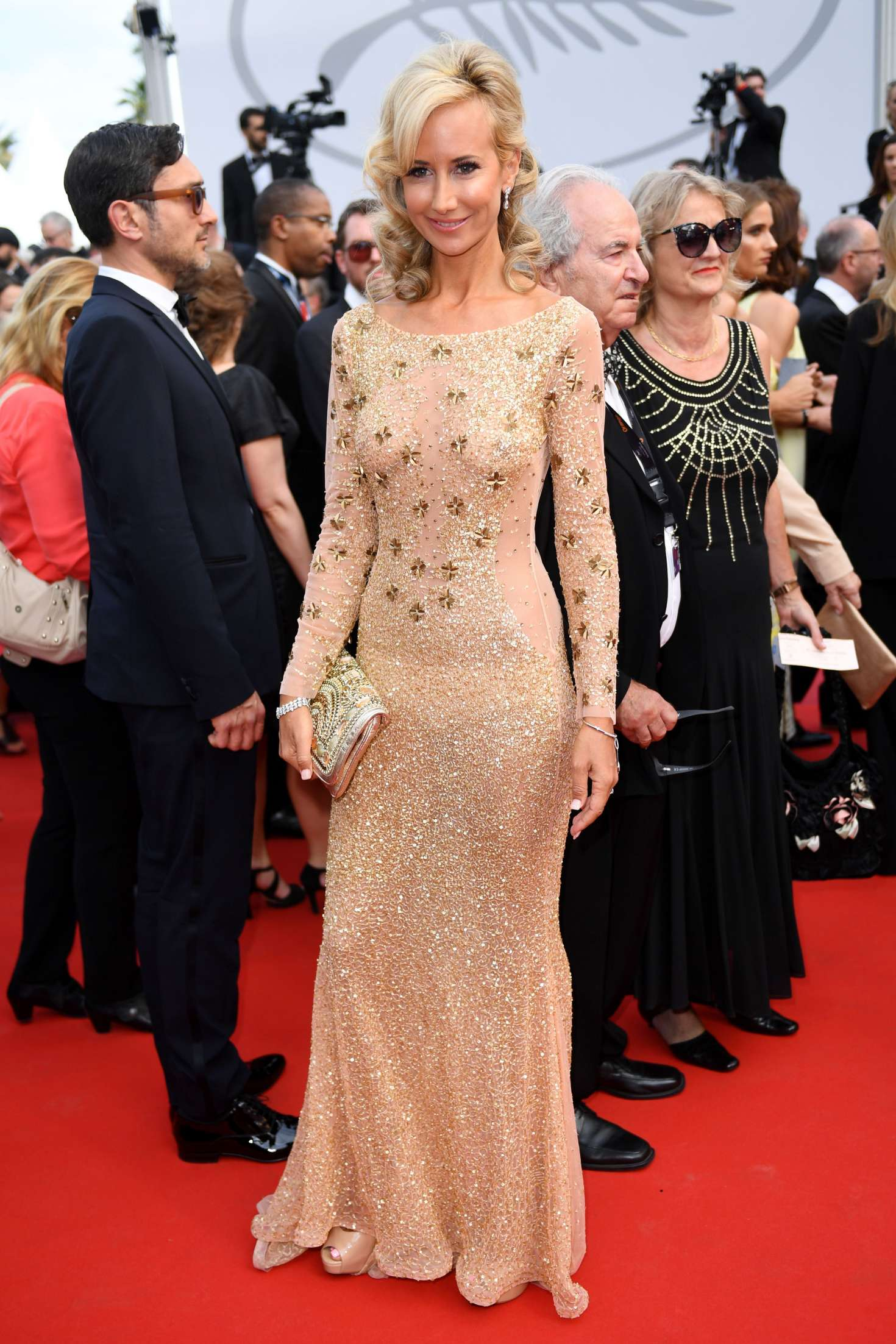 Lady Victoria Hervey 2017 : Lady Victoria Hervey: Loveless Premiere at 70th Cannes Film Festival -04