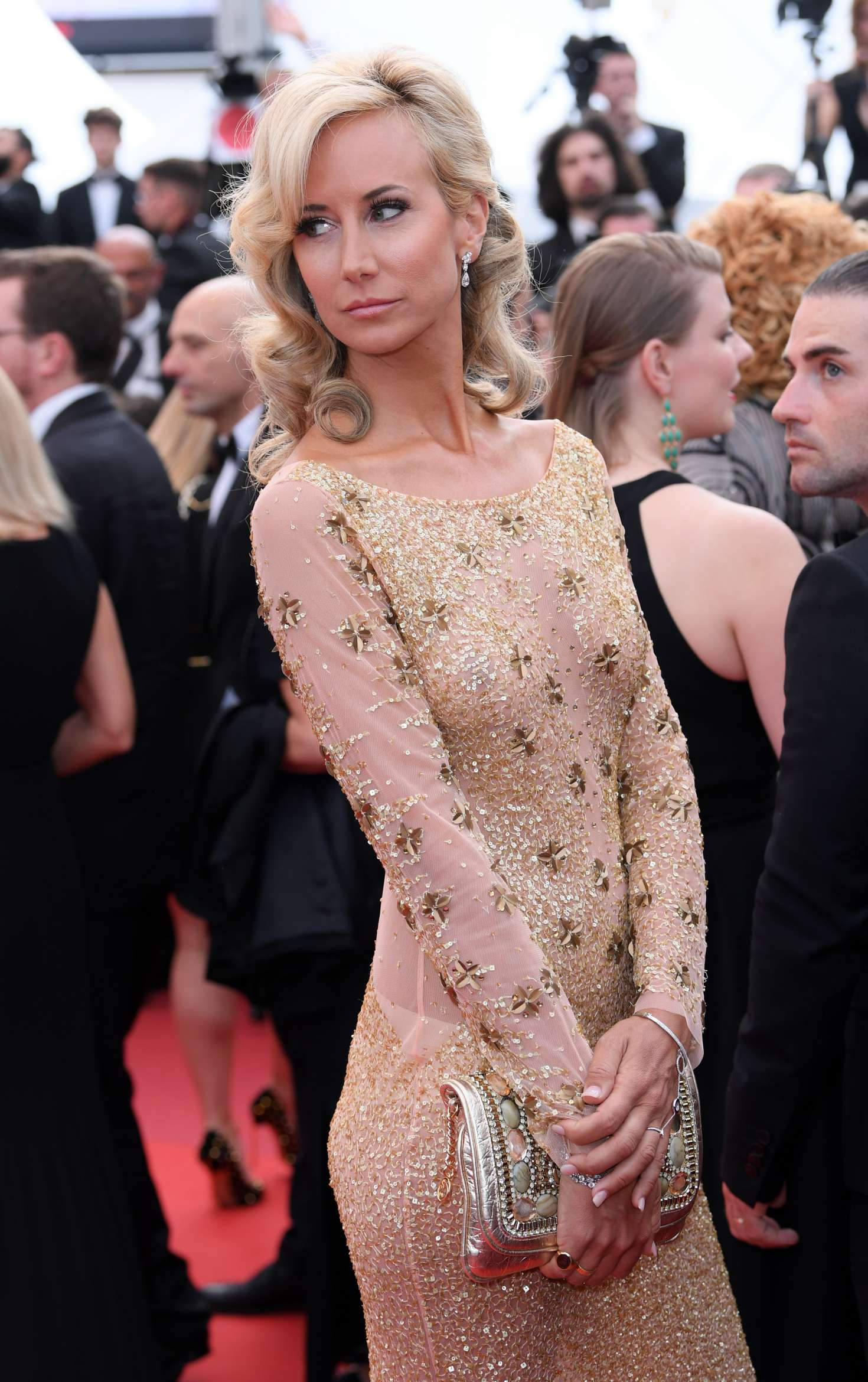 Lady Victoria Hervey - 'Loveless' Premiere at 70th Cannes Film Festival