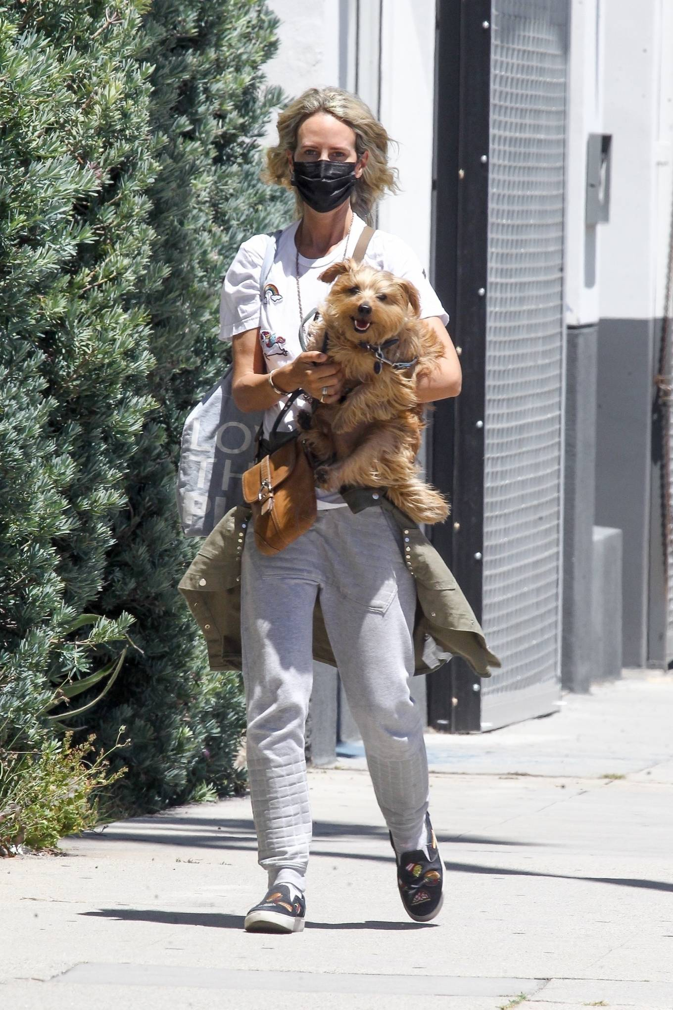 Lady Victoria Hervey 2020 : Lady Victoria Hervey – Out for a walk with her dog in West Hollywood-01