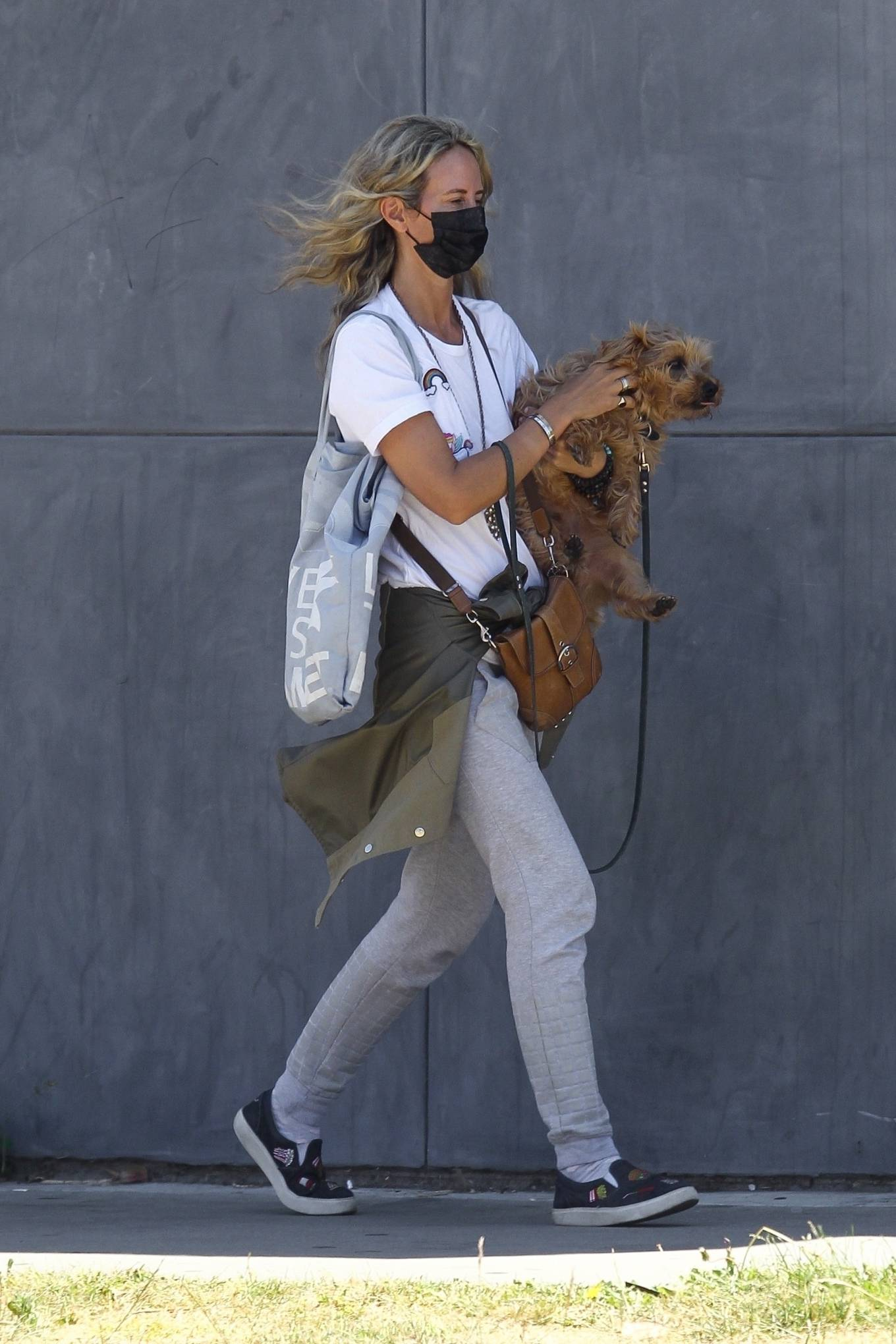 Lady Victoria Hervey 2020 : Lady Victoria Hervey – Out for a walk with her dog in West Hollywood-02