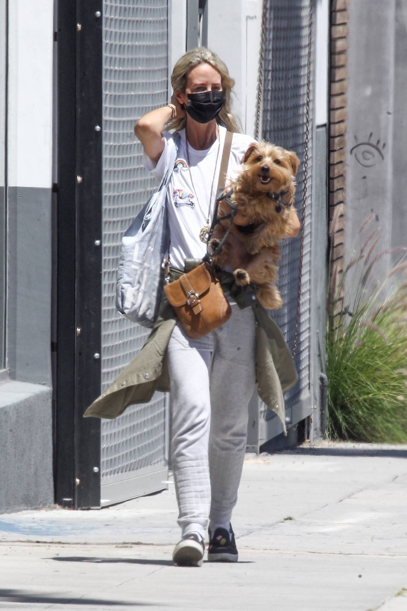 Lady Victoria Hervey 2020 : Lady Victoria Hervey – Out for a walk with her dog in West Hollywood-09
