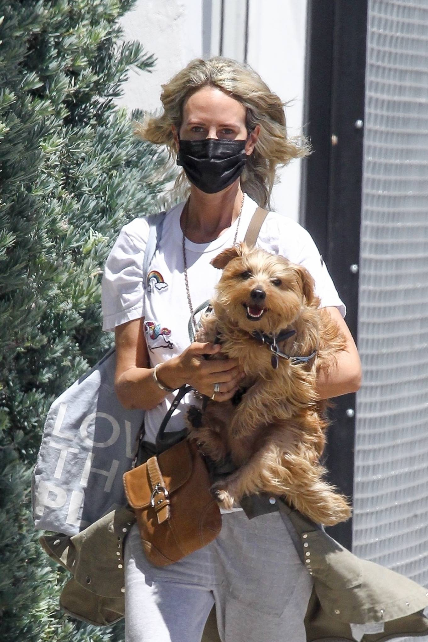 Lady Victoria Hervey 2020 : Lady Victoria Hervey – Out for a walk with her dog in West Hollywood-10