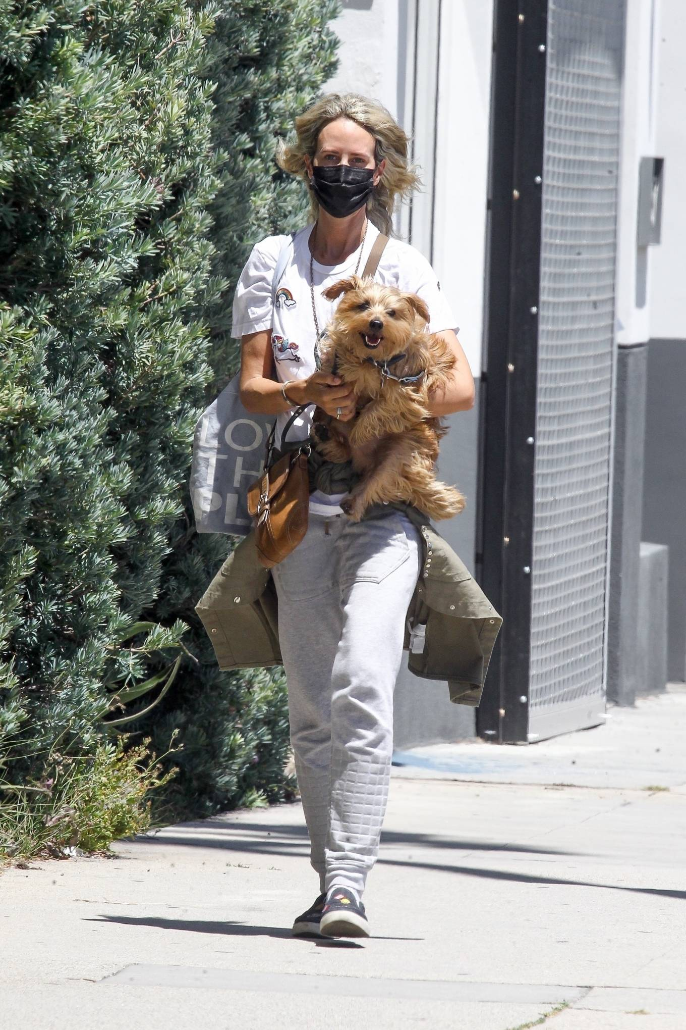 Lady Victoria Hervey 2020 : Lady Victoria Hervey – Out for a walk with her dog in West Hollywood-14