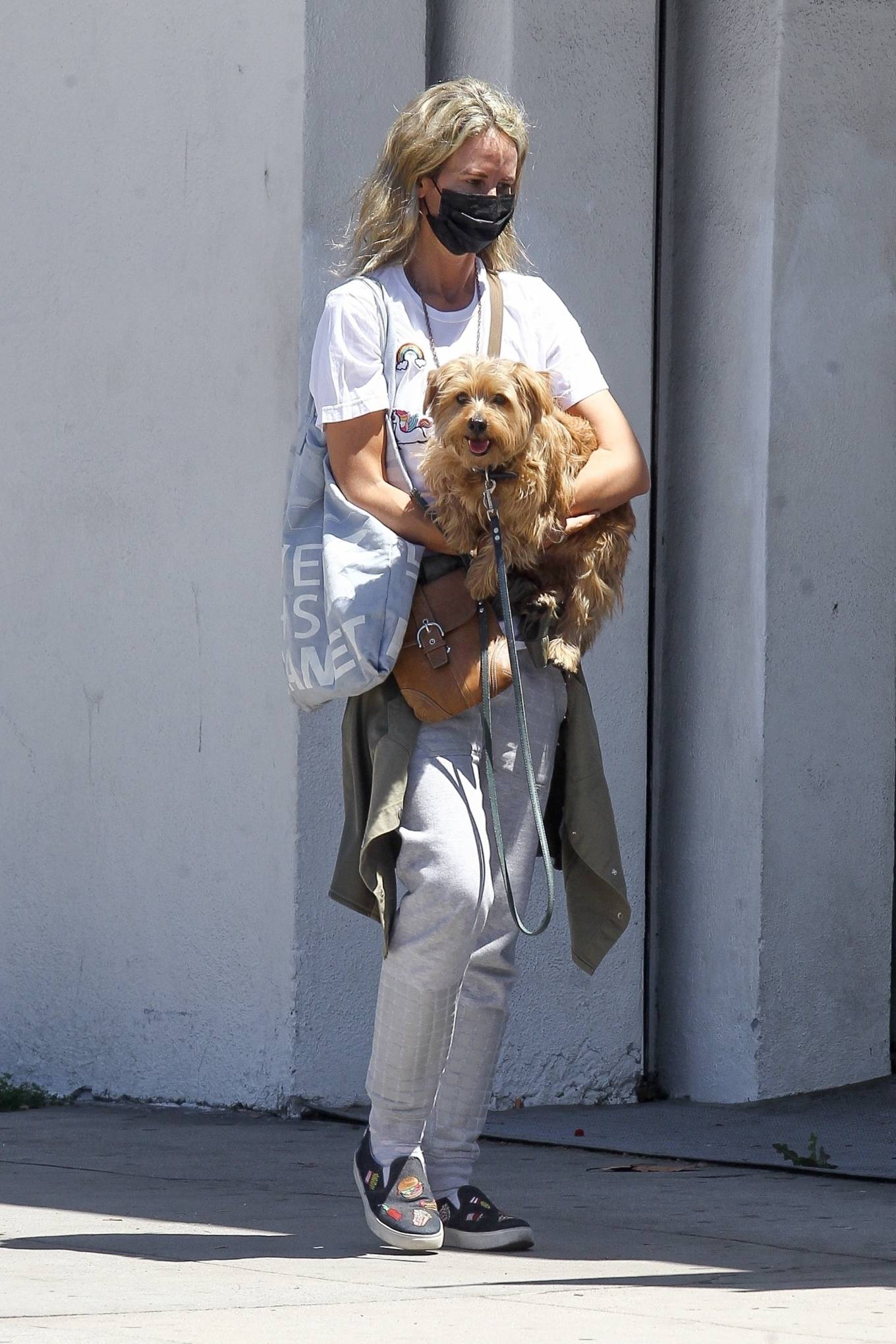 Lady Victoria Hervey 2020 : Lady Victoria Hervey – Out for a walk with her dog in West Hollywood-16