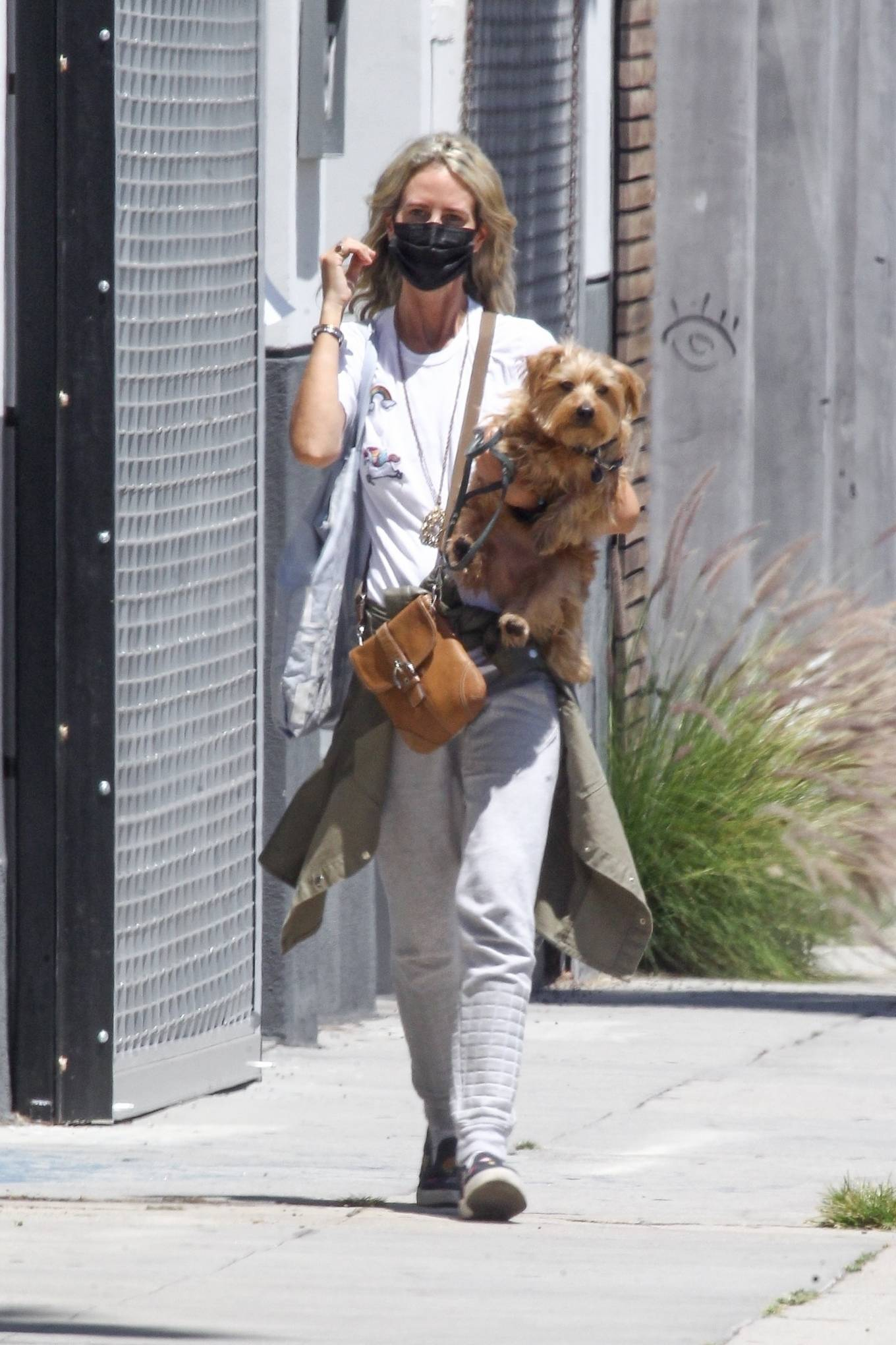 Lady Victoria Hervey 2020 : Lady Victoria Hervey – Out for a walk with her dog in West Hollywood-17