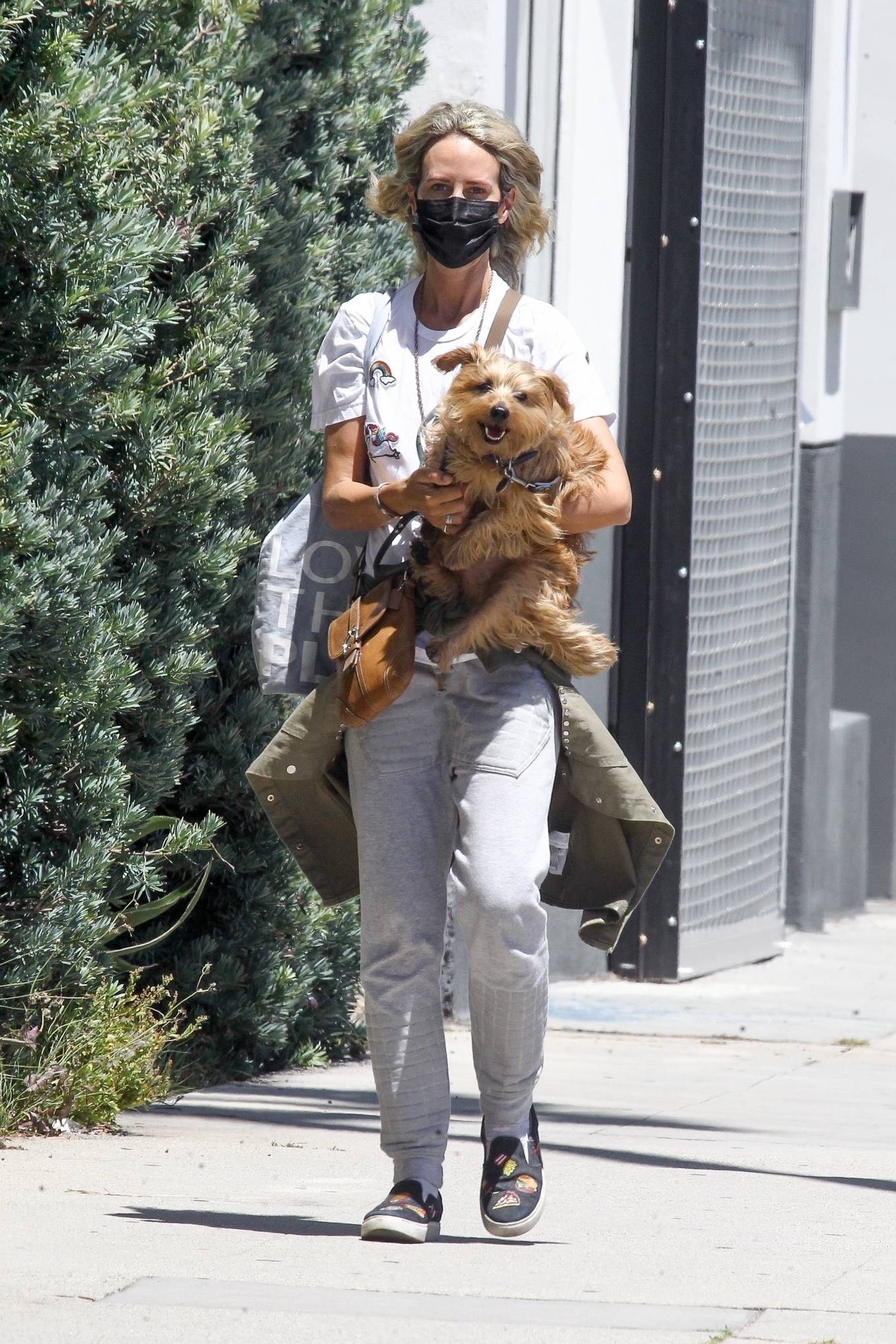 Lady Victoria Hervey 2020 : Lady Victoria Hervey – Out for a walk with her dog in West Hollywood-18