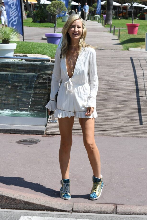 Lady Victoria Hervey - Spotted at the 74th Cannes Film Festival