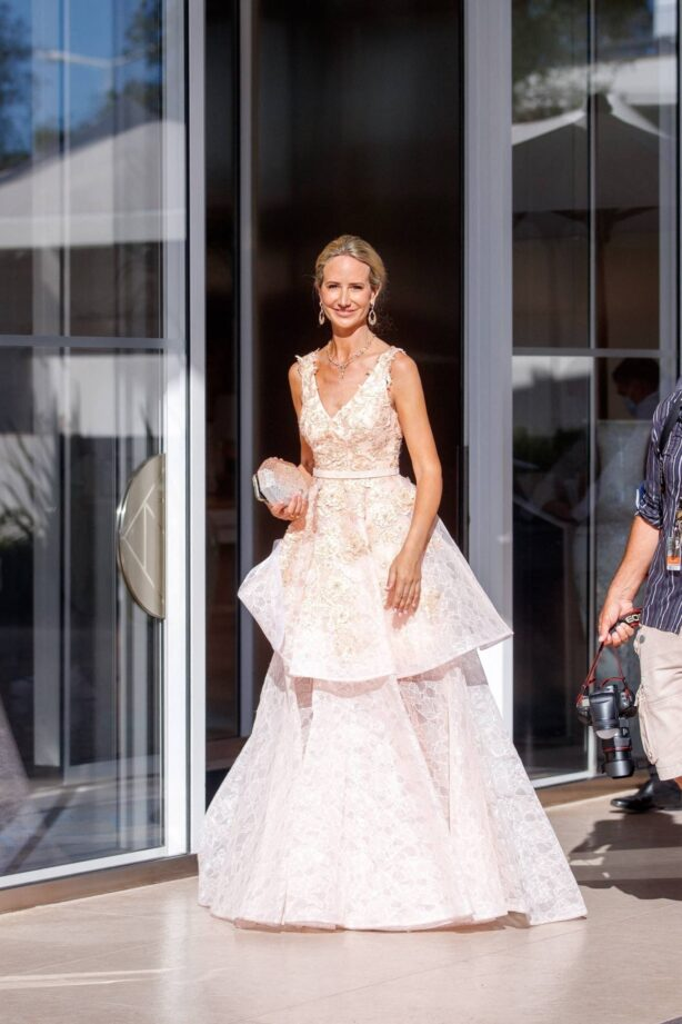 Lady Victoria Hervey - Spotted at the Martinez Hotel during the 74th Cannes Film Festival