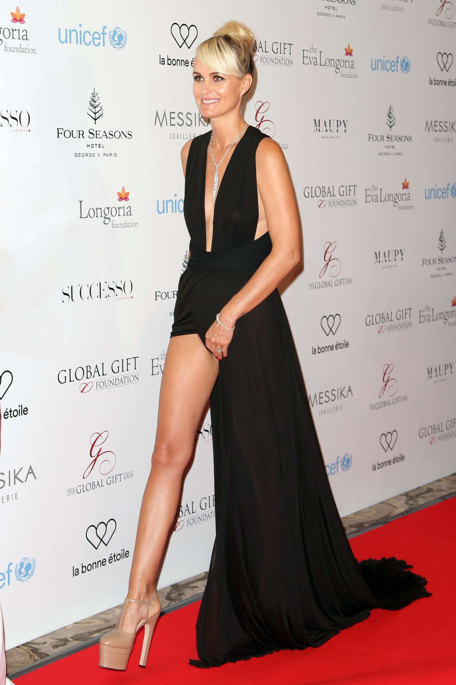 laeticia hallyday 7th edition of the global gift gala