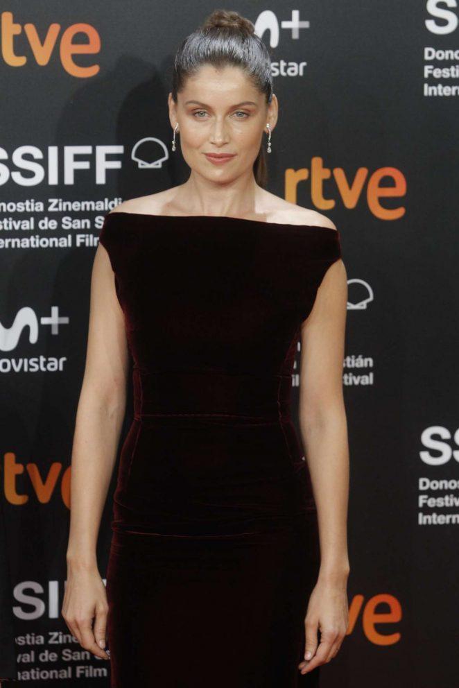 Laetitia Casta - 'A Faithful Man' Premiere at 2018 San Sebastian Film Festival in San Sebastian