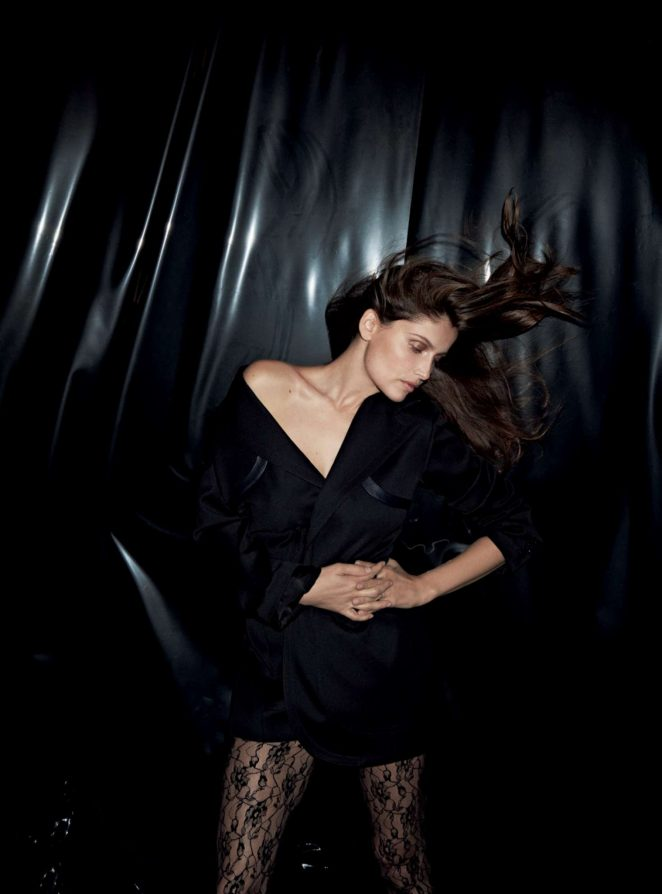 Laetitia Casta - Air France Madame (December2017/January 2018)