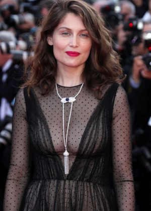 Laetitia Casta - Anniversary Soiree at 70th Cannes Film Festival
