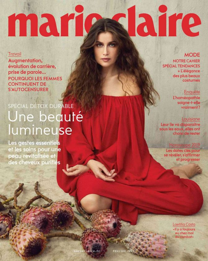 Laetitia Casta – Marie Claire France Magazine (February 2019)