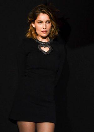 Laetitia Casta - Saint Laurent Show in Paris