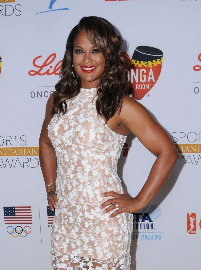 Laila Ali - 2nd Annual Sports Humanitarian of the Year Awards in Los Angeles